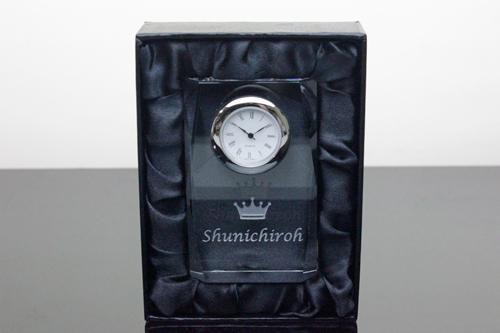 クリスタル時計 スタンダード