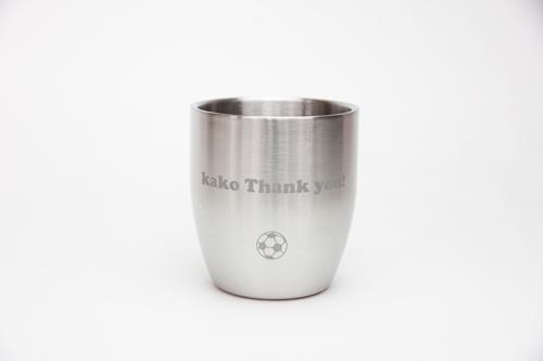 Wステンレスカップ