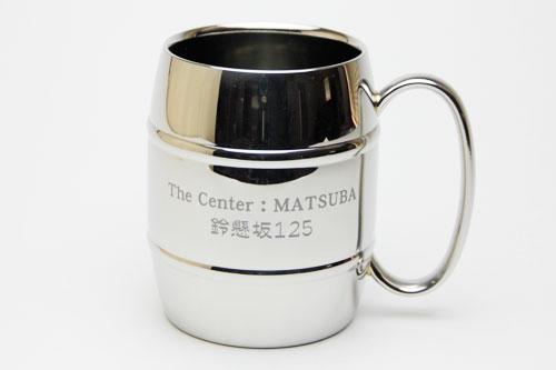 タルマグ 名入れステンレス二重構造マグカップ Made in TSUBAME