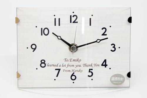 名入れ時計 おしゃれなテーブル&ウォールクロック