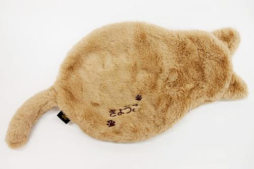名入れ刺繍入り あったかUSB猫ブランケット Lサイズ