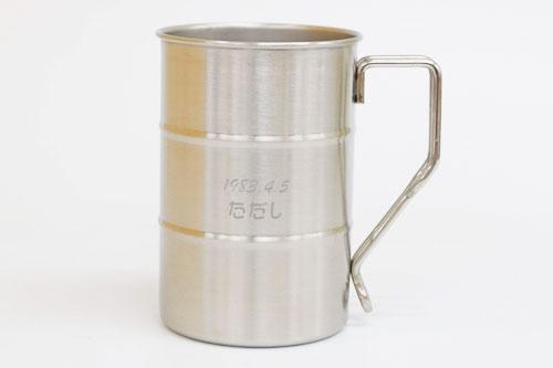 ドラム缶マグ 名入れステンレスマグカップ