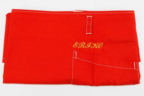 名入れ刺繍ショートエプロン